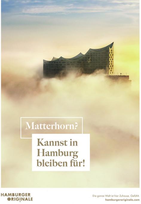 Kampagnen-Motiv der Hamburger Originale - Matterhorn