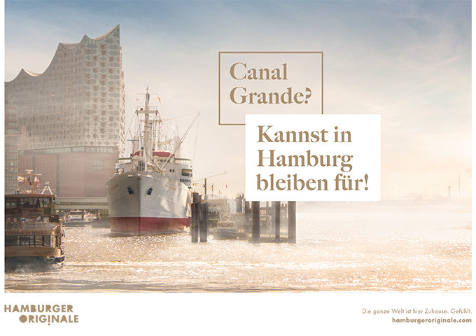 Hamburger Original - Kampagnenmotiv - Canal_Grande