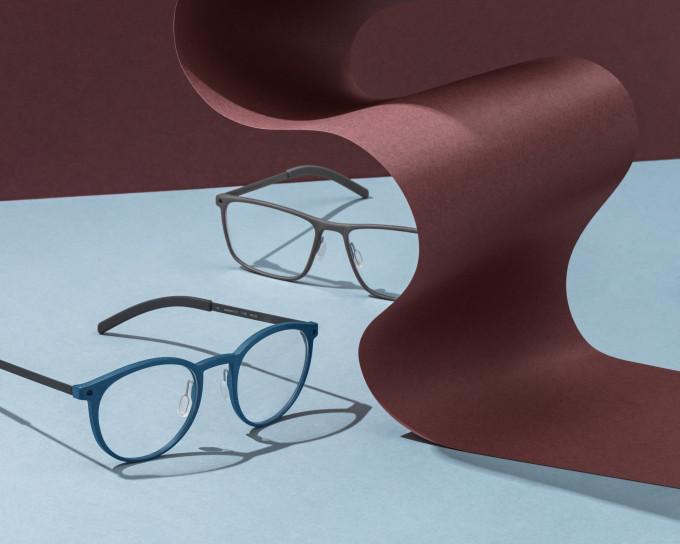 Die Quantum Kollektion besteht aus 3D-gedruckten Mittelteilen und Titanbügeln.