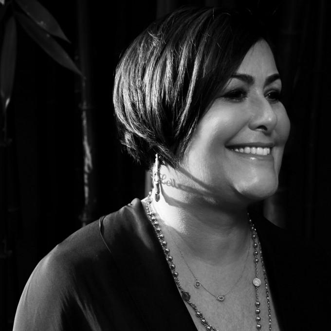 Patty Perreira, Brillendesignerin aus Los Angeles, Namensgeberin der Kollektion Barton Perreira.