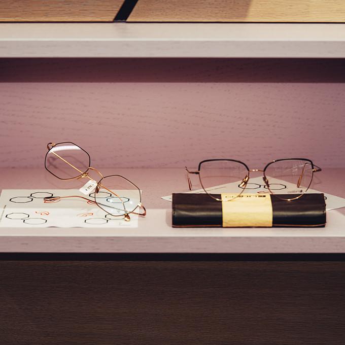 Colibri's Brillen bei BELLEVUE in der Präsentation.Mu