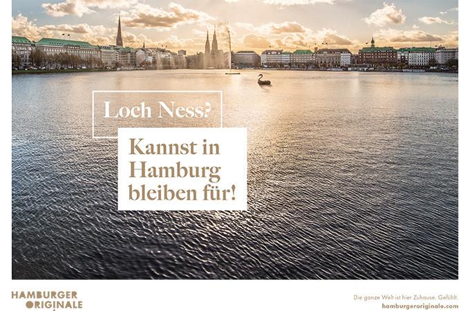 Hamburger Originale - Kampagnenmotiv - Loch Ness