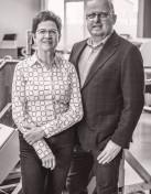 Susanne und Wolfgang Reckzeh von Colibri's haben die erste Brillenkollektion für kleine Gesichter entwickelt.