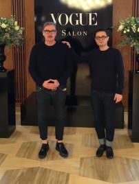 Klaus Stiegemeyer und Florian Baron, Gründer und Inhaber von Mapleton auf einem Vogue Event.