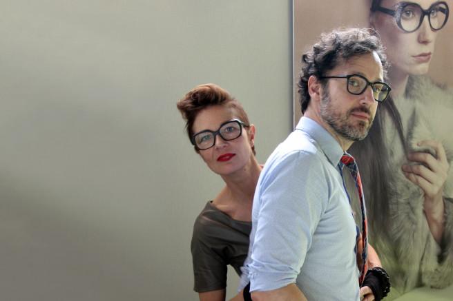 Susanne Klemm und Etienne Frederiks, gemeinsame Inhaber von Suzy Glam Eyewear.