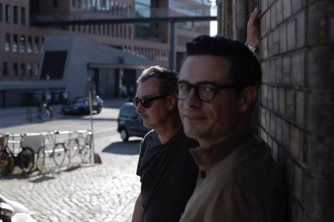 Klaus Stiegemeyer und Florian Baron von Mapleton von Hamburg.