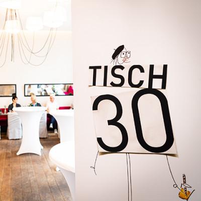 TISCH 30 - Jubiläumsevent 30 Jahre Augenoptik